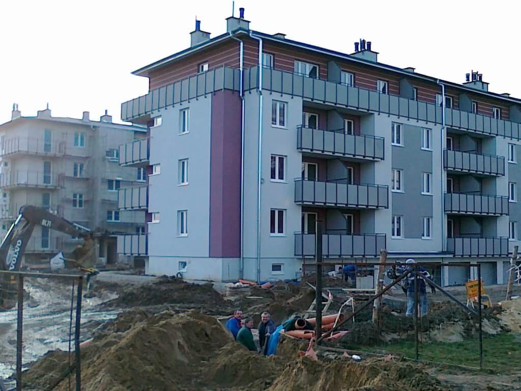 Budynek mieszkalny dla Spółdzielni Mieszkaniowej w Jelcz Laskowice