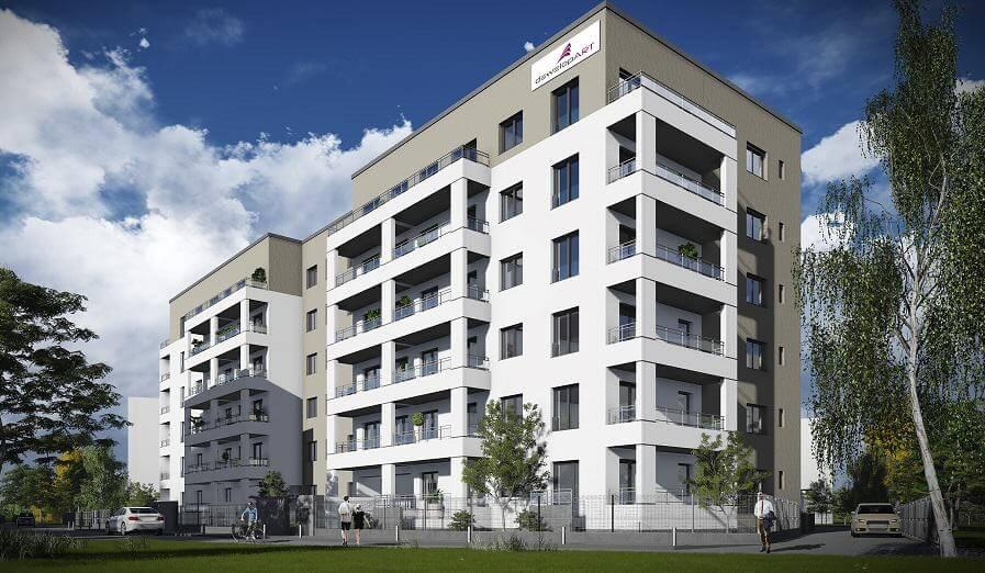 Budynek mieszkalny dla firmy DewelopART Wrocław ul. Jesionowa