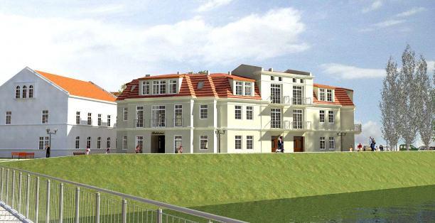 Budynek mieszkalny dla firmy DOMBUD w Oławie ul. Plac Zamkowy