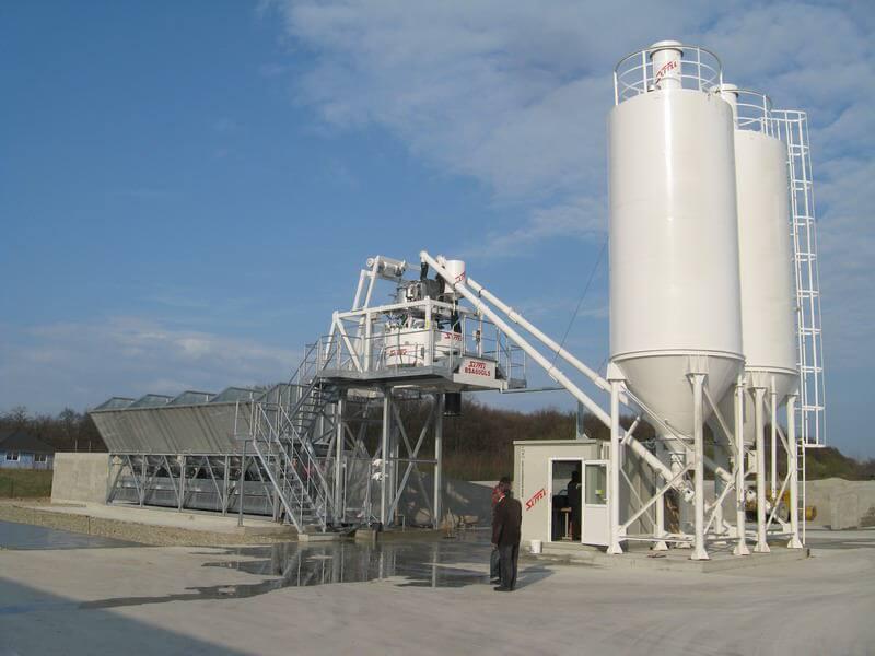 Budowa węzła betoniarskiego dla firmy DOMBUD